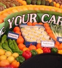 Fresh Produce on show at EKKA in August each year.
