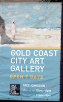 Gold Coast City Art Gallery Sign