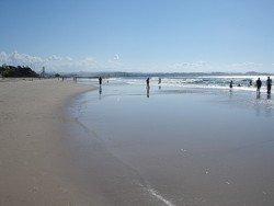Gold Coast Queensland beach at Coolangatta.