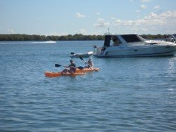 Kayaking at South Stradbroke Island Resort