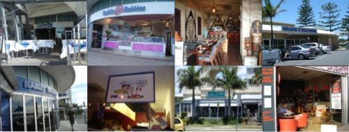 Different views of Labrador restaurants, cafes and places to eat.