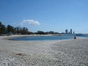 Ian Dipple Lagoon at Labrador is great for families and right next to the Broadwater.