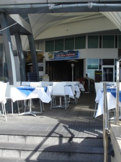 The Lazy Lobster Restaurant at Aqua Labrador.