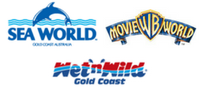Single Day Tickets to Movie World, Sea World and Wet 'n' Wild One Day Tickets