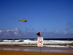 Main Beach surf life saving is really important. Swim between the flags and obey the signs.