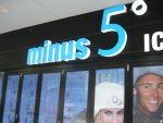 Minus 5 Ice Bar in Surfers Paradise