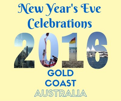 New Years Eve on Gold Coast 2015 to 2016