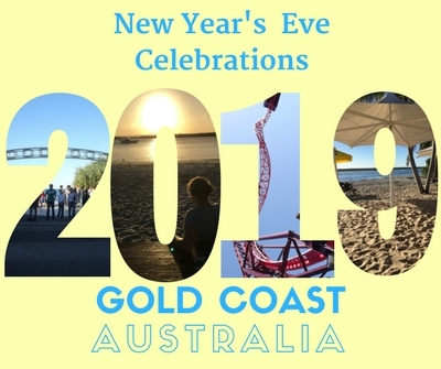 New Years Eve on Gold Coast 2018 to 2019