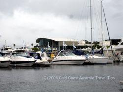 Sanctuary Cove Boats in the Marina