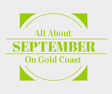 Find out about September in Gold Coast