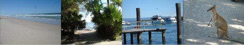 South Stradbroke Island Australia Views of the island