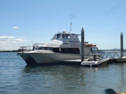 South Stradbroke Island Resort Ferry Service departs from Runaway Bay Marina and goes directly to the resort several times a day.