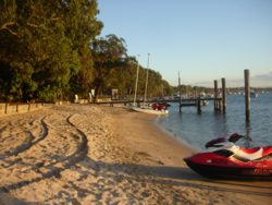 South Stradbroke Resort beach