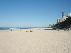 Surfers Paradise beach is awesome any time of the year. This photo was taken in August mid winter in Gold Coast.