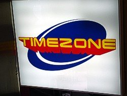 Timezone Gold Coast Sign