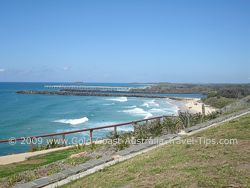 Tweed Heads Bar all there is between you and whale watching!