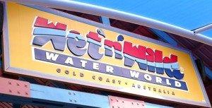 Wet n Wild Theme Park Gold Coast Sign